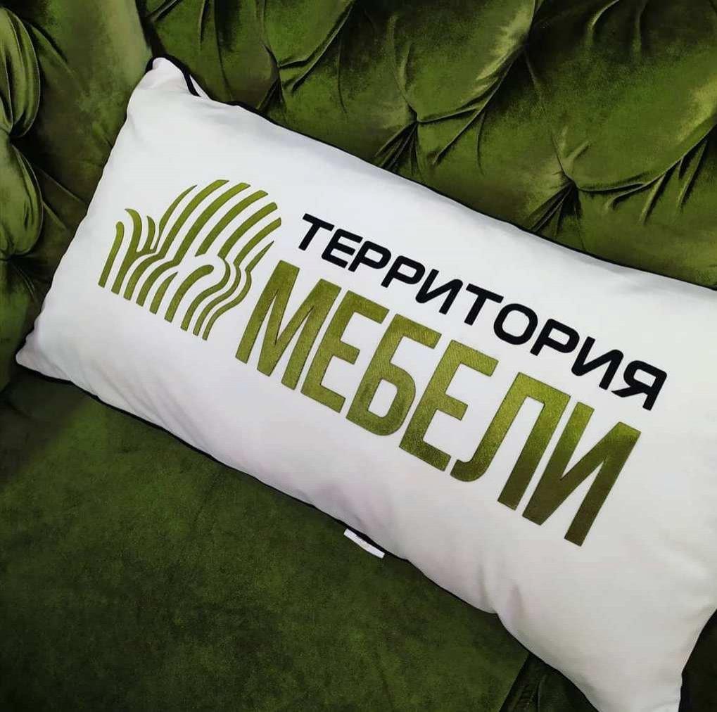Печать, брендирование подушек, разработаем любой дизайн