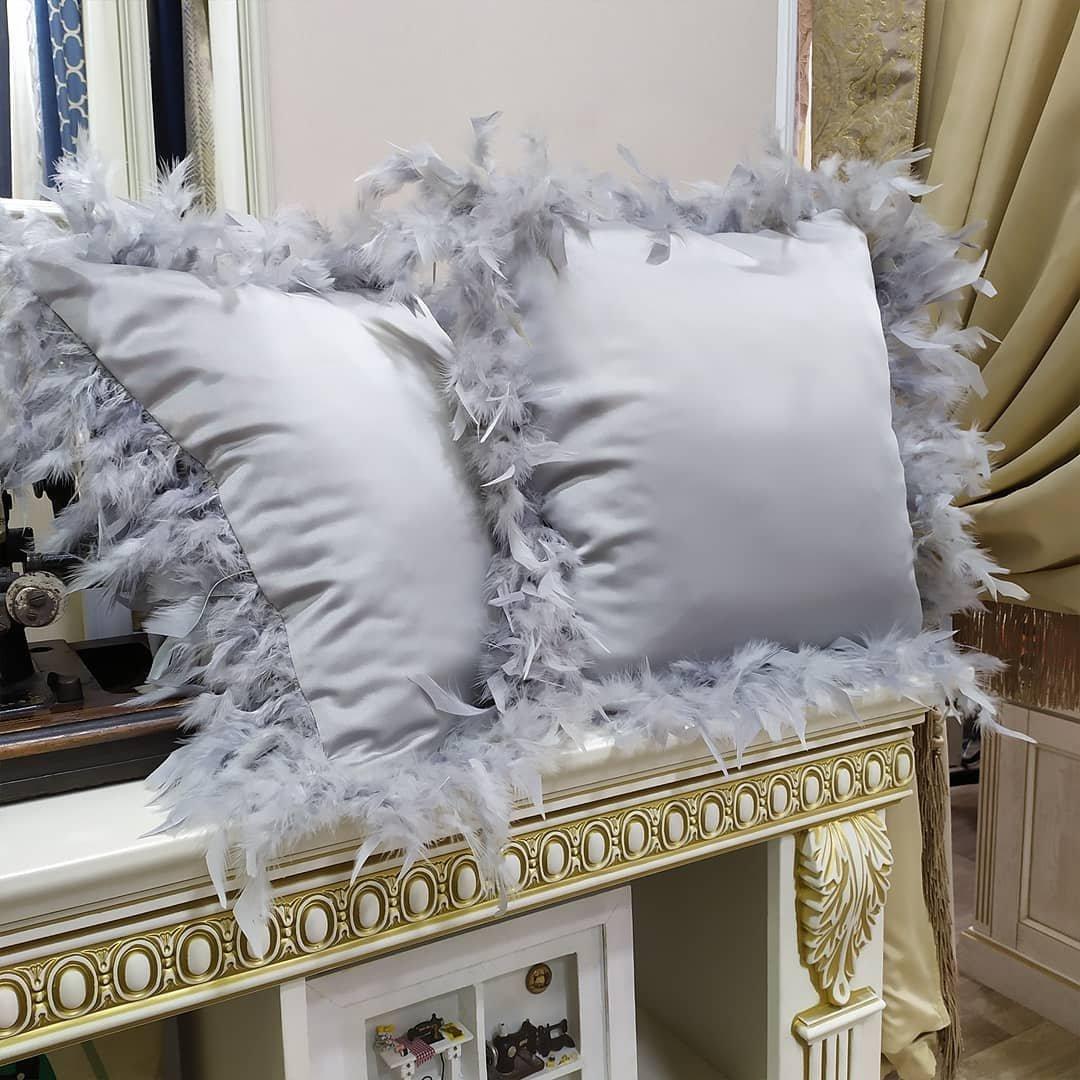 Вот такие романтичные подушки нам заказали