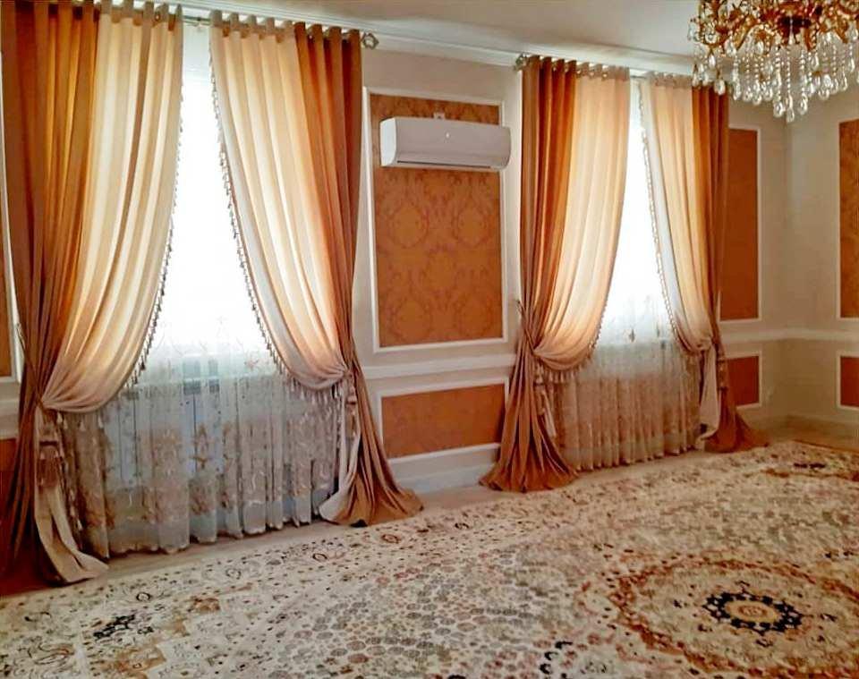 В нашем салоне @magiyashtor.kz можем предложить вам современные и элегантные шторы, изысканные аксессуары для любого интерьера