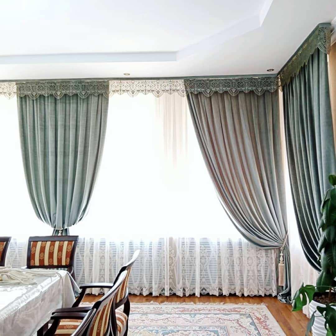 В нашем салоне @magiyashtor.kz можем предложить вам современные и элегантные шторы, изысканные аксессуары для любого интерьера.