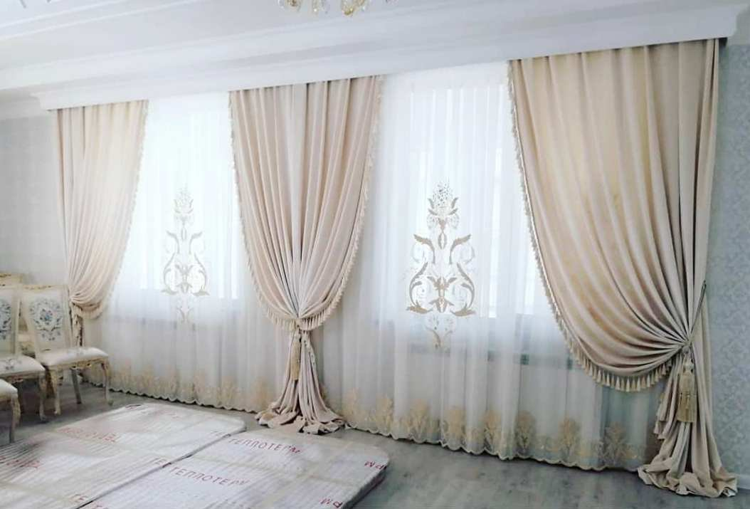 Пошив штор и текстильных изделий любой сложности