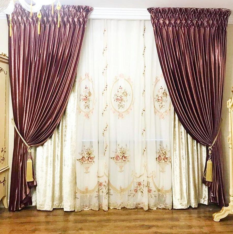 Роскошные шторы для изысканного интерьера.