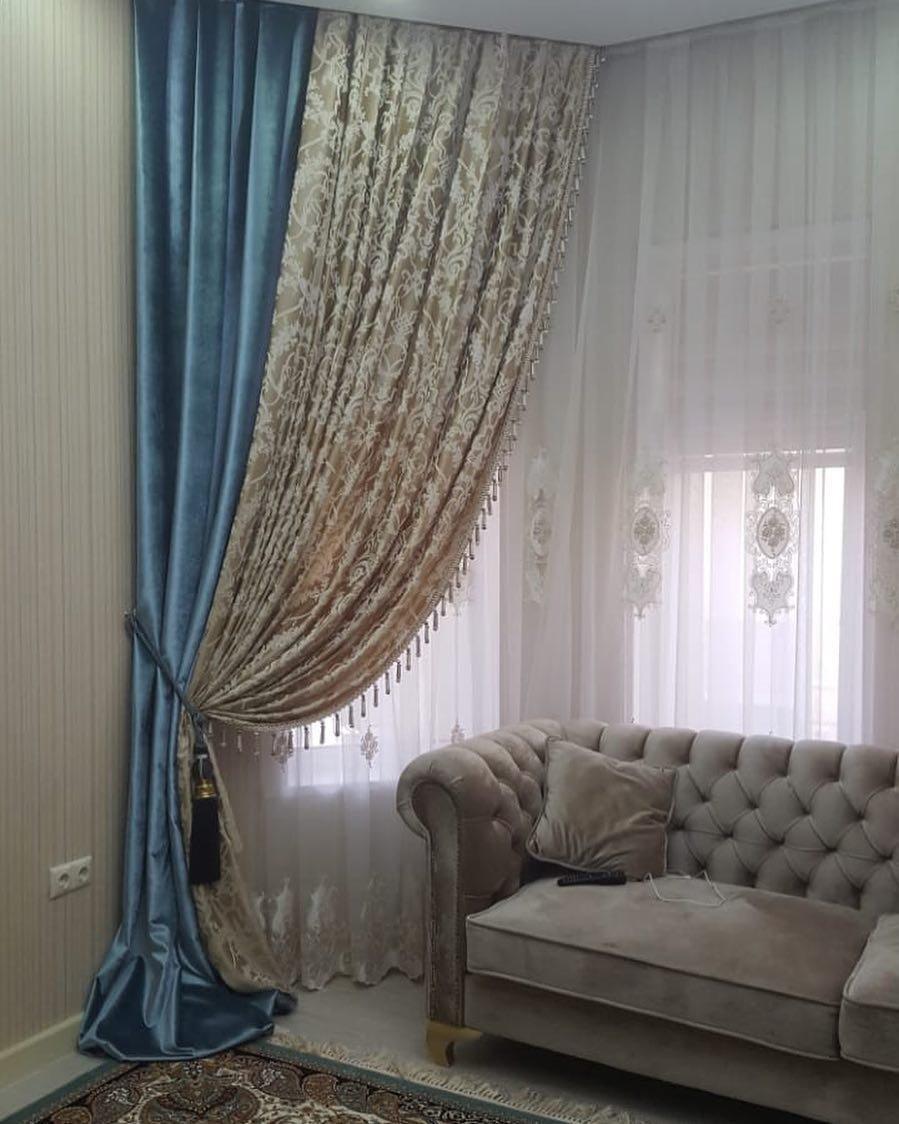 Шарм и изысканность в шторах