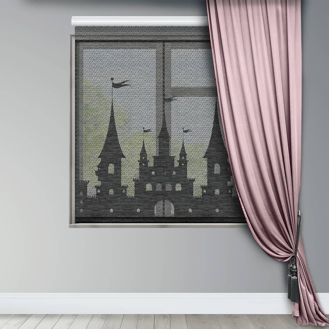 Ролл шторы с перфорацией. Воплотим любую идею, любой дизайн,чтобы ваше окно заиграло, заискрилось волшебным светом.