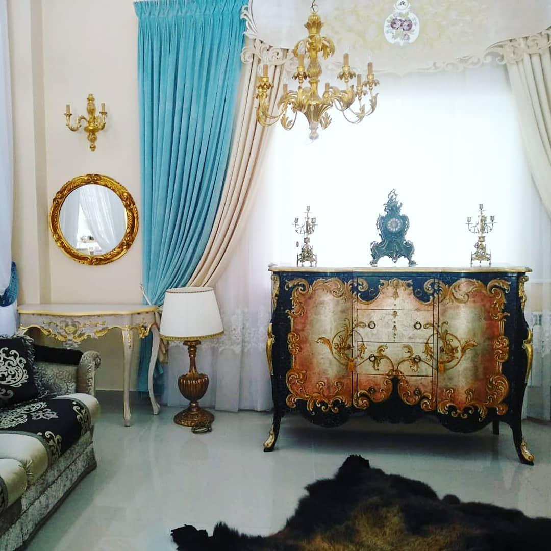 Текстильное оформление мебельного салона