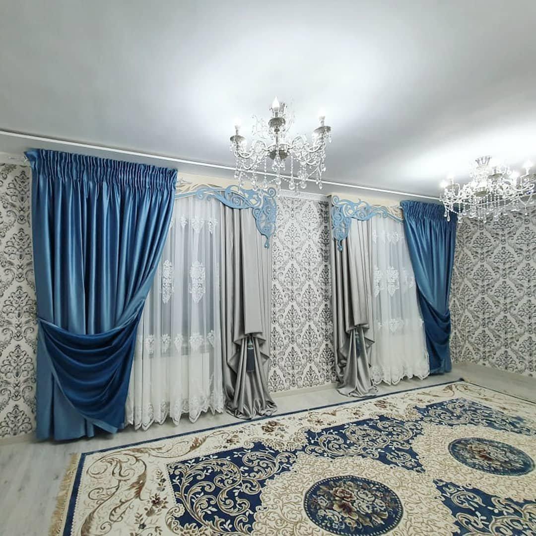 Восточная сказка в интерьере — обилие ковров, богатый декор и роскошный текстиль.