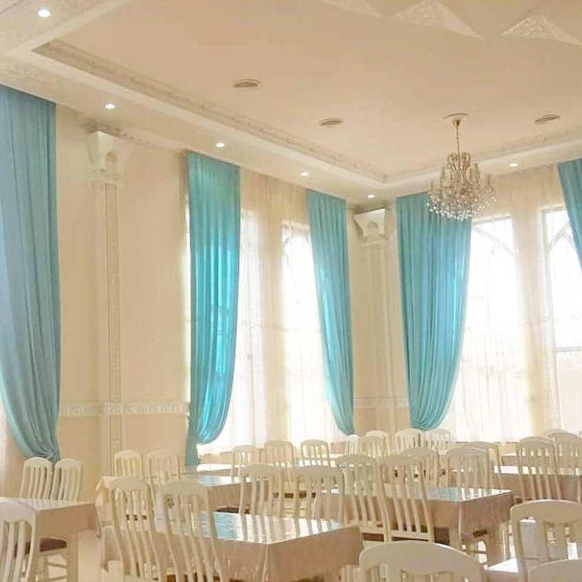 Текстильное оформление ресторанов, кафе и прочего интерьера