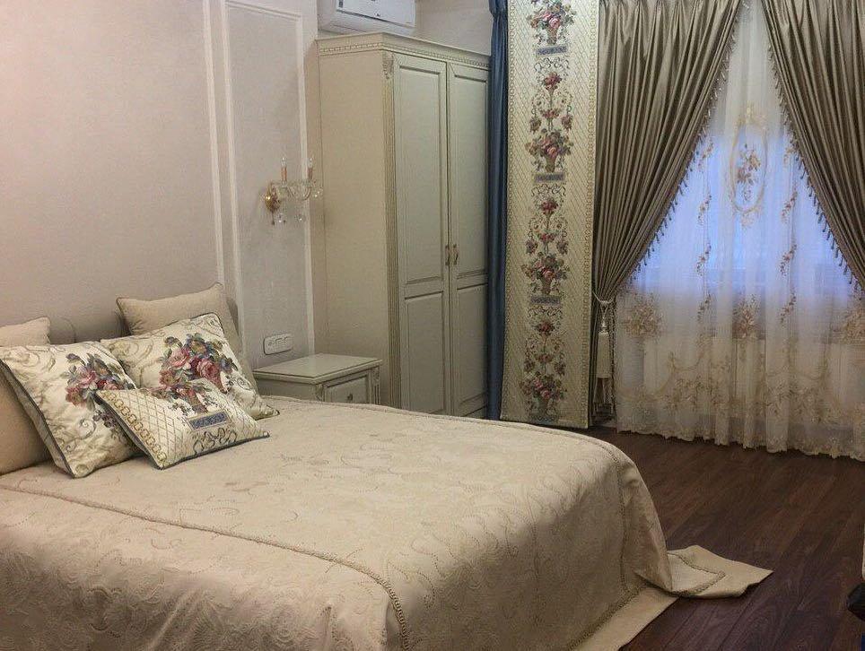 Текстильное декорирование спальни