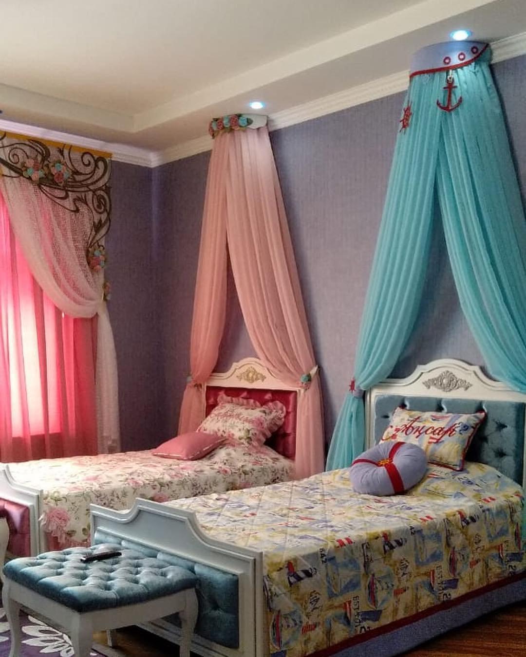 Текстильное оформление детских комнат