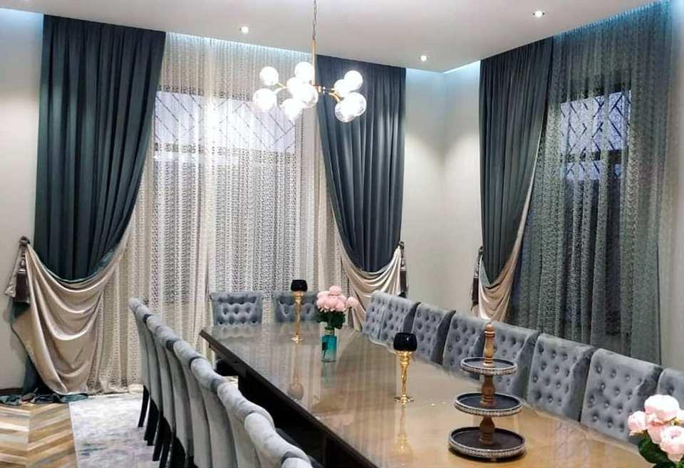 Элегантные шторы для лаконичного и стильного интерьера.