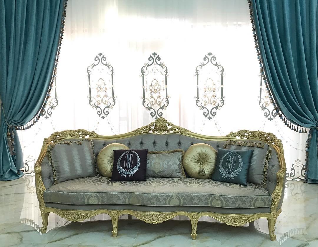 Текстильное декорирование гостиной