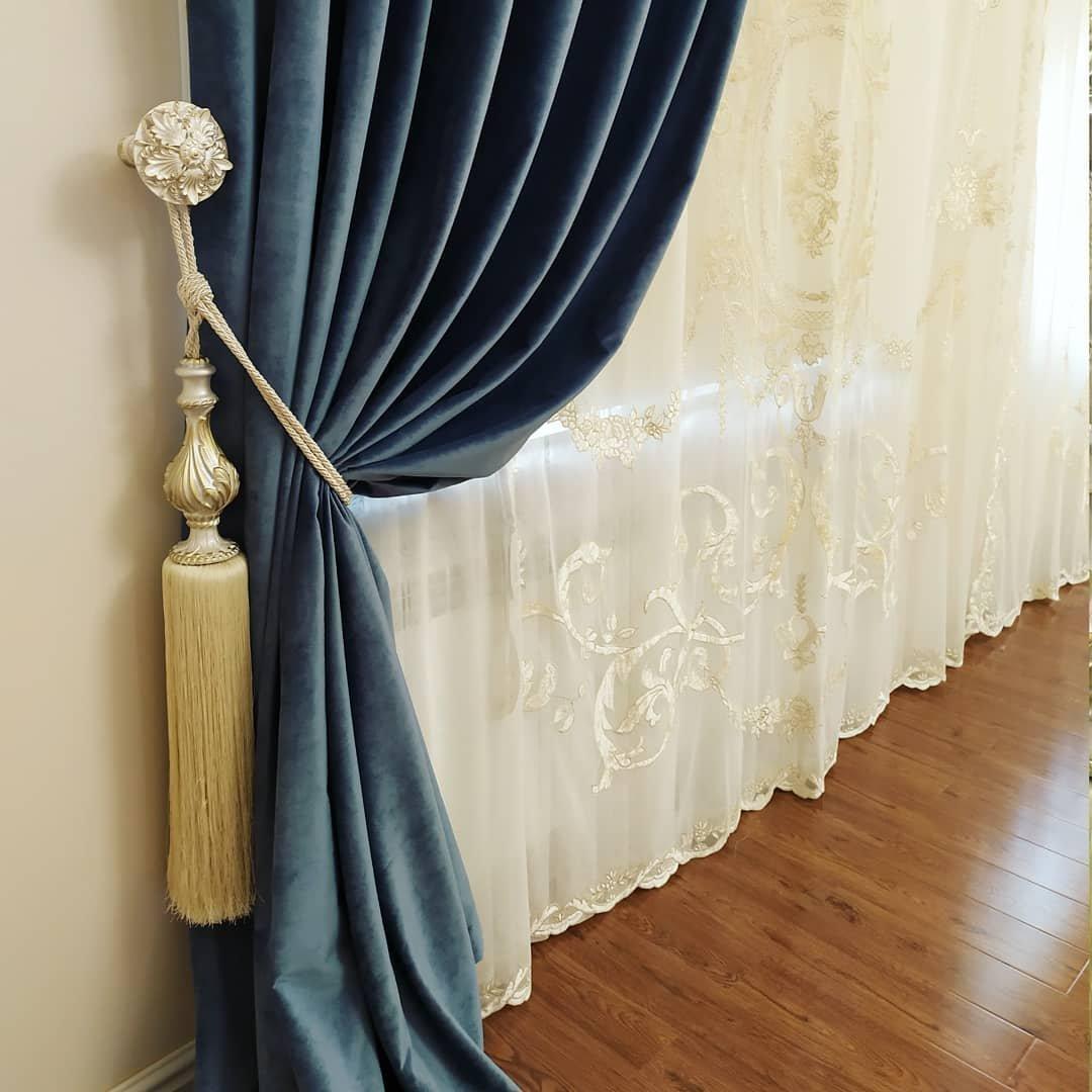 Широкий ассортимент фурнитуры для штор разных стилей и направлений дизайна
