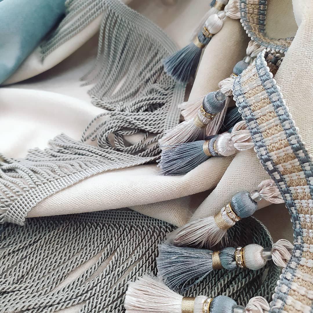 Басонные изделия, шторные ленты, кисти, бахрома в наличие и в хороших метражах. Мы можем предложить что то особенное только для Вас!!! Ведь «Магия штор» - салон Авторского текстиля и неповторимого дизайна!