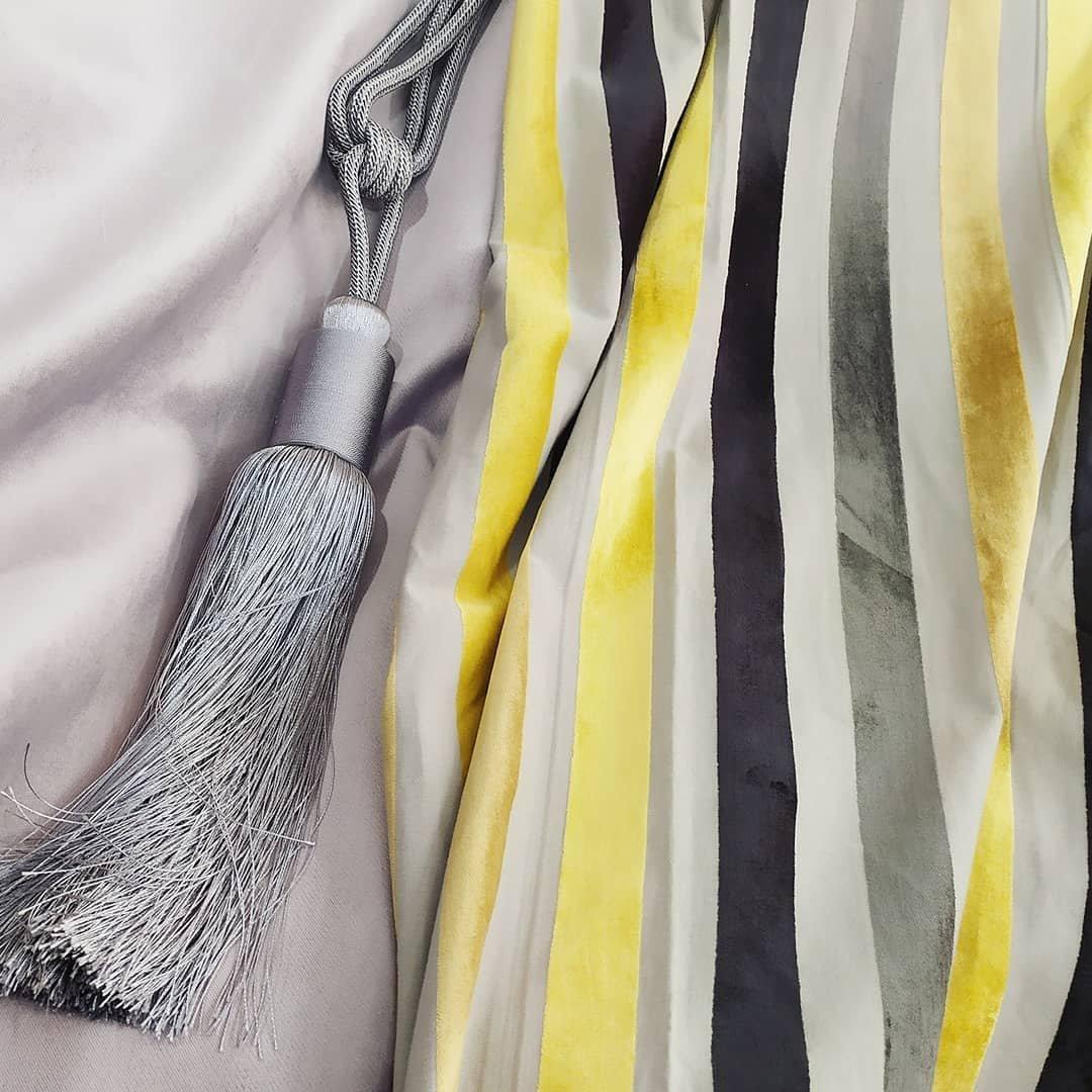 Басонные изделия, шторные ленты, кисти, бахрома в магазине фурнитуры МАГИЯ ШТОР